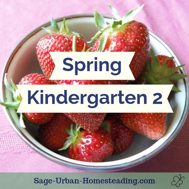 spring kindergarten 2