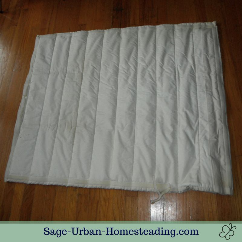 quilted window quilt