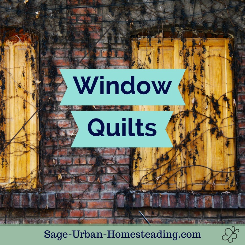 window quilts