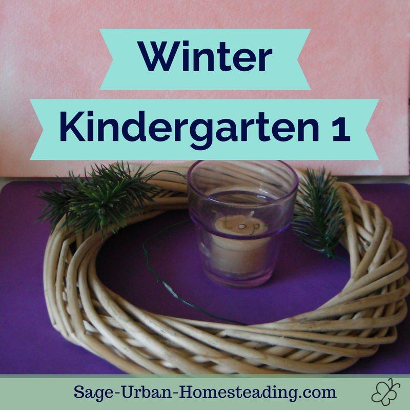 winter kindergarten