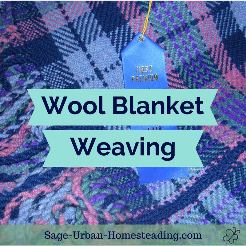wool blanket weaving