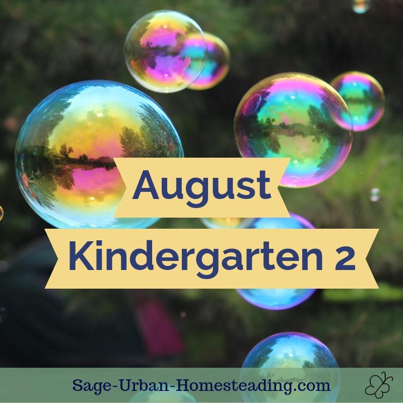August kindergarten 2
