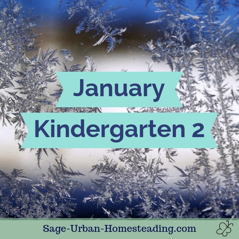 January kindergarten 2