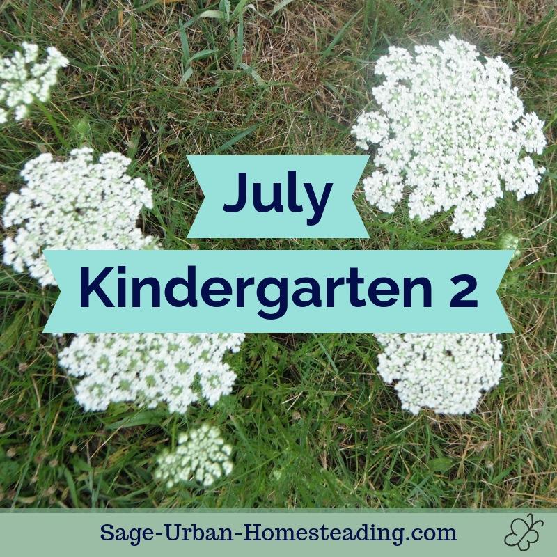 July kindergarten 2