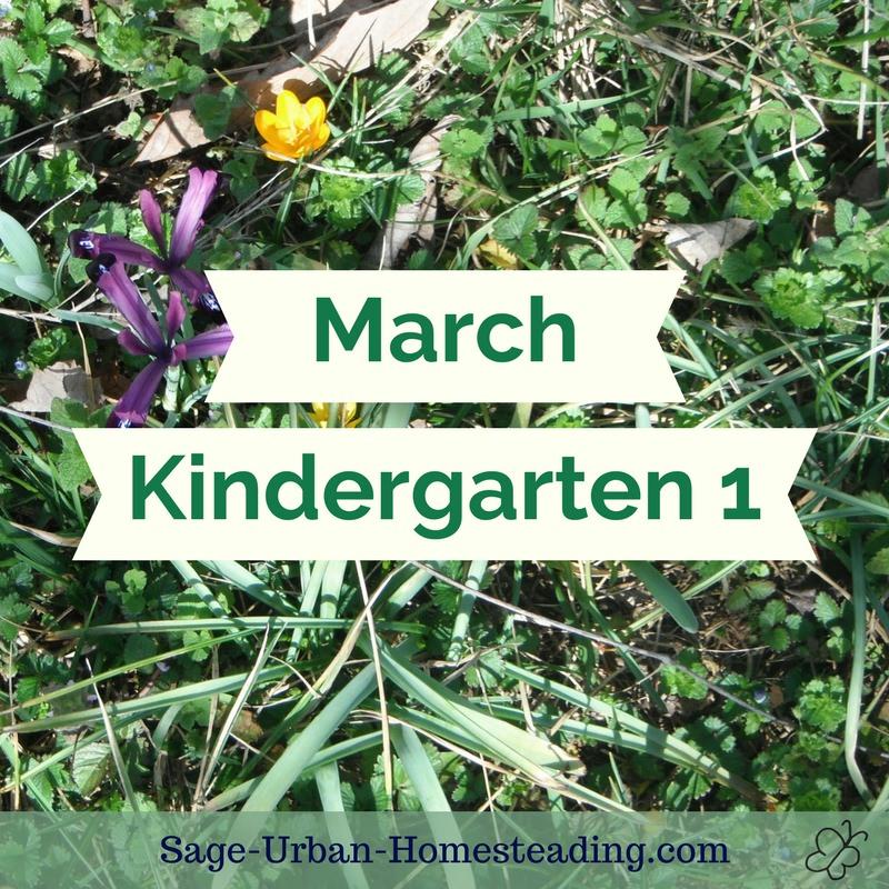 March kindergarten