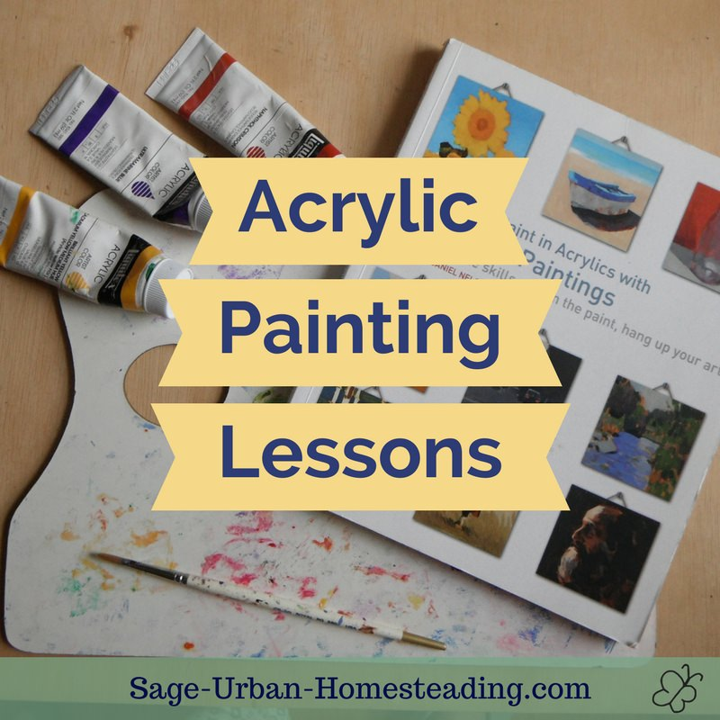 acrylic painting lessons