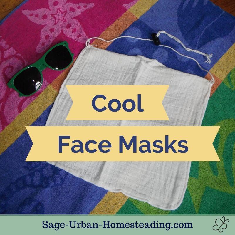 cool face masks