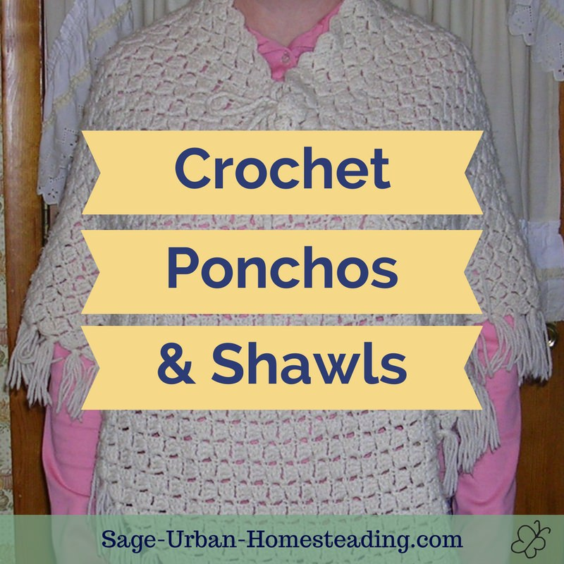 crochet ponchos and shawls
