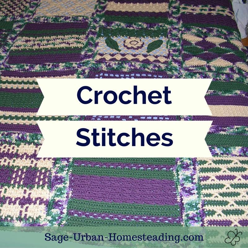 crochet stitiches