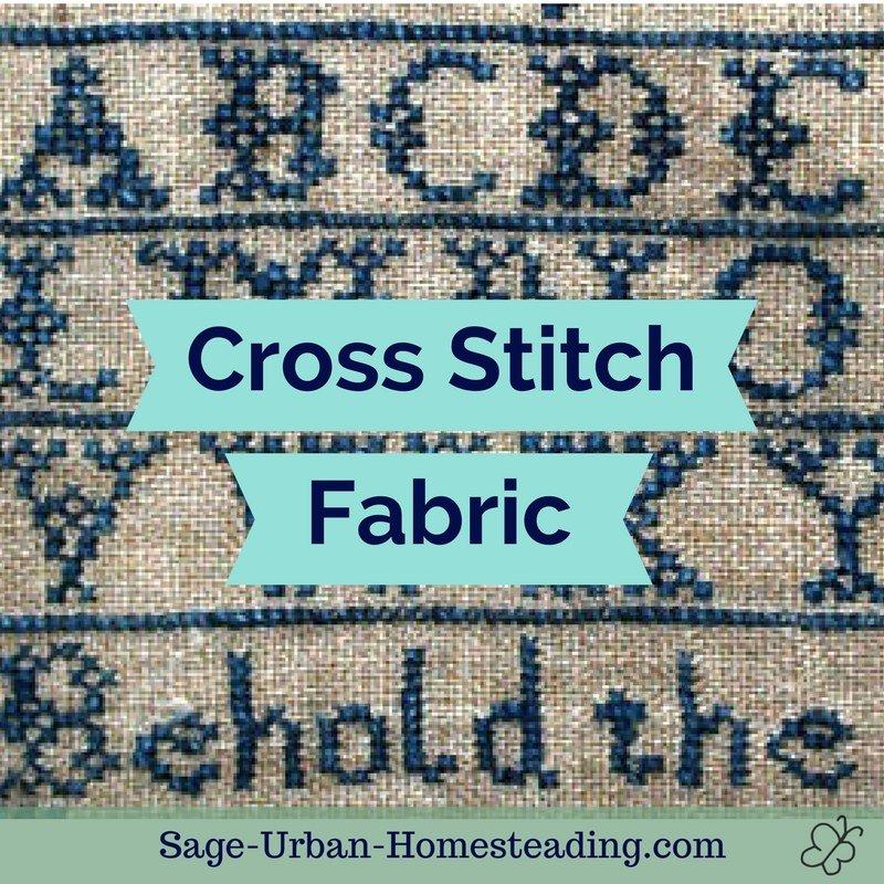 cross stitch fabric