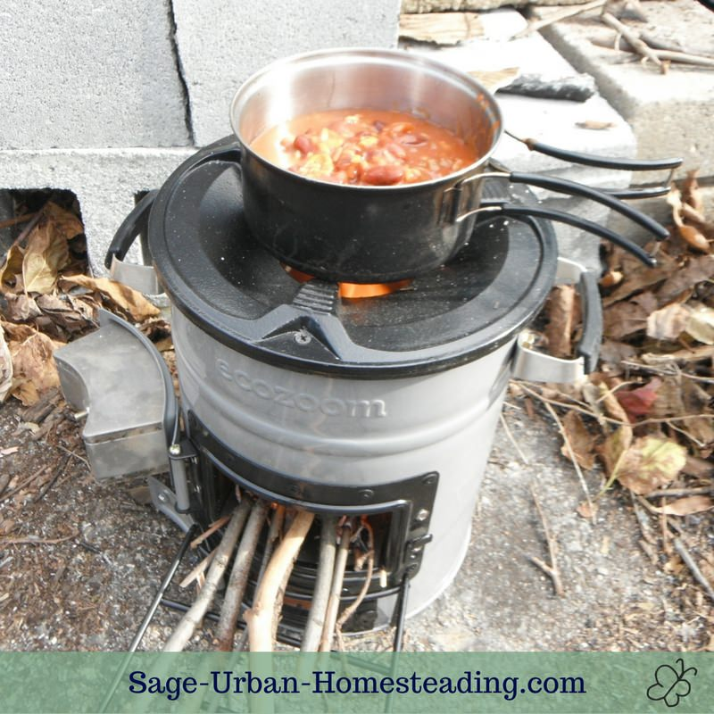Eco Zoom Versa rocket stove