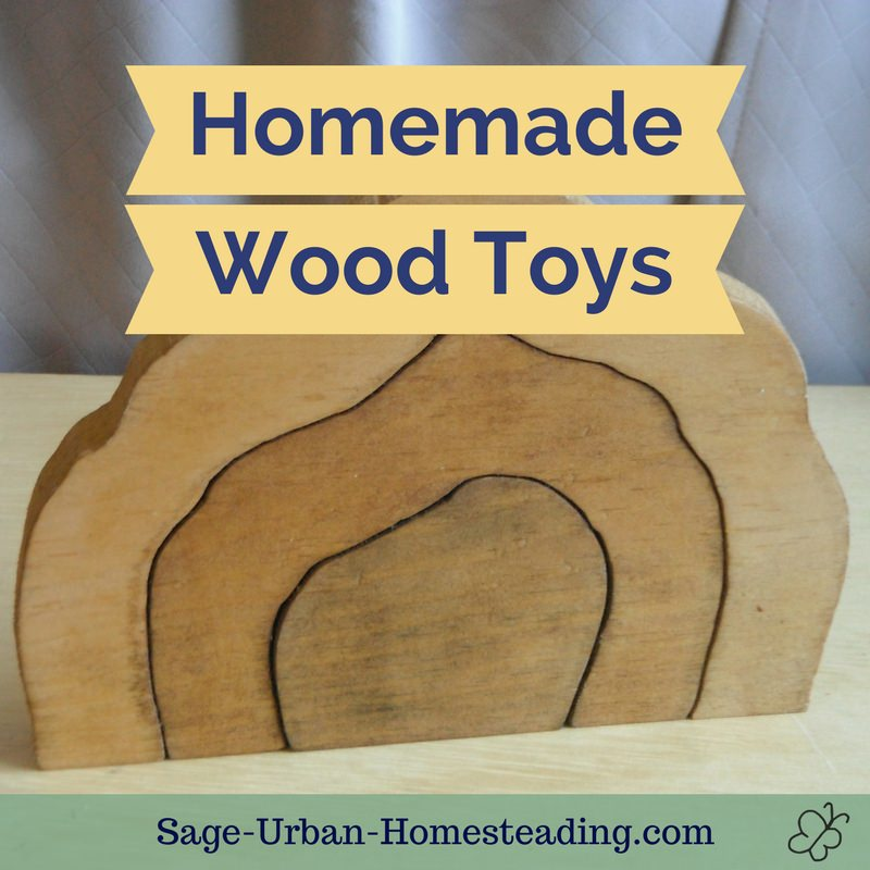 homemade wood toys