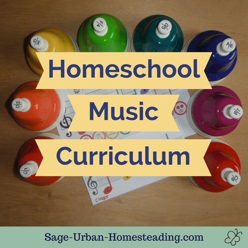homeschool music curriculum