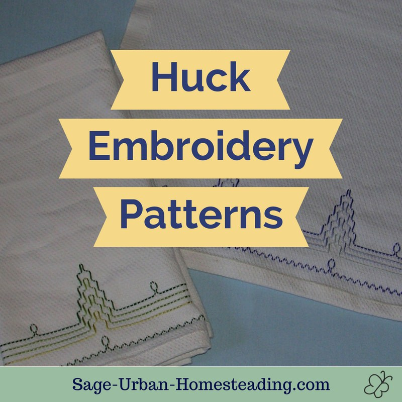 huck embroidery patterns