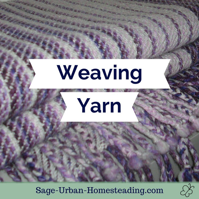weaving yarn